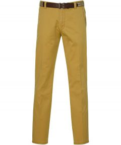 Meyer pantalon Bonn - modern fit - geel