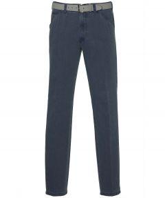 Meyer pantalon Chigago - modern fit - blauw