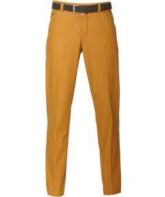 sale - Meyer pantalon - regular fit - okergeel