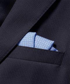 Jac Hensen pochet - lichtblauw