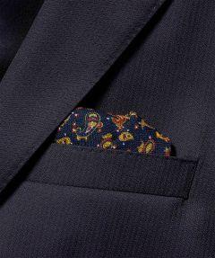 sale - Jac Hensen pochet - blauw