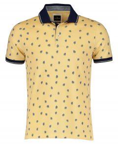Jac Hensen polo - extra lang - geel