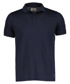 Hensen polo - slim fit - blauw