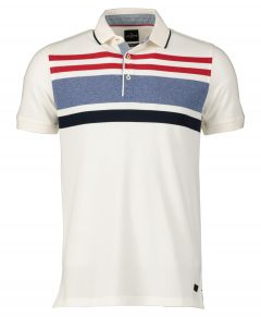 Jac Hensen polo - extra lang  - wit
