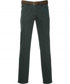 sale - Meyer pantalon Chicago- modern fit - groen