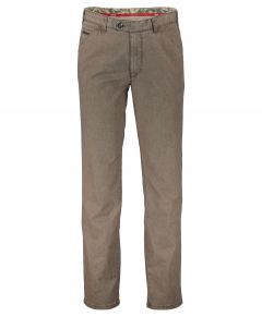 Meyer pantalon Chicago - modern fit - bruin