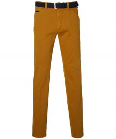 Meyer chino Chicago - modern fit - oker