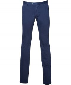 sale - Gentiluomo pantalon - slim fit- blauw