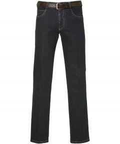 sale - Meyer pantalon Diego - regular fit - blauw