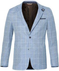sale - Gentiluomo colbert - slim fit- blauw