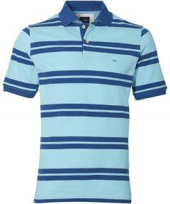 sale - Jac Hensen polo - modern fit - blauw