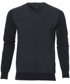 Jac Hensen trui - modern fit - blauw