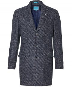 British Indigo jas - slim fit - blauw