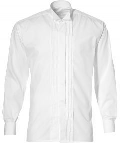 sale - Smokingoverhemd - Modern Fit - Wit