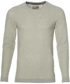 No Excess pullover - modern fit - grijs