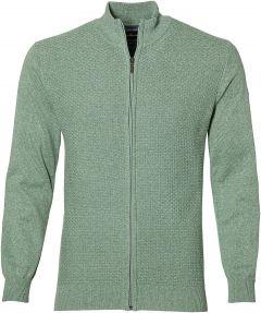 Jac Hensen vest - extra lang - groen
