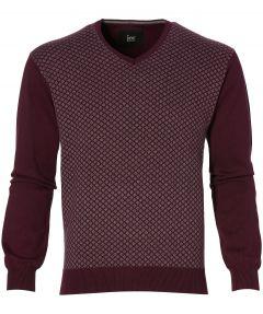 sale - Jac Hensen pullover - modern fit - bordeaux