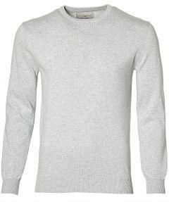 Hensen pullover- extra lang - grijs