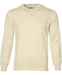 Hensen pullover - extra lang - beige
