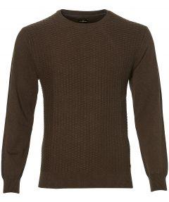 sale - Jac Hensen pullover - modern fit - bru