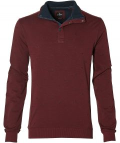 Jac Hensen polo - extra lang - rood