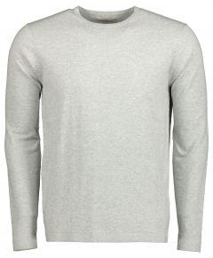 Hensen pullover - slim fit - grijs