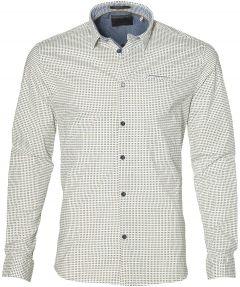 sale - No Excess overhemd - modern fit - groen