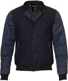 No Excess jack- slim fit - blauw