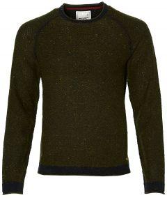 No Excess pullover - modern fit - groen