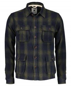 Anerkjendt overhemd - modern fit - blauw