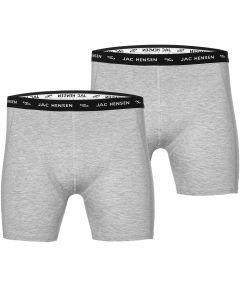 Jac Hensen boxers 2-pack - grijs