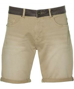 No Excess short - modern fit - beige