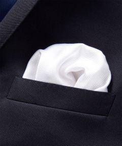 Azzuro pochet - wit