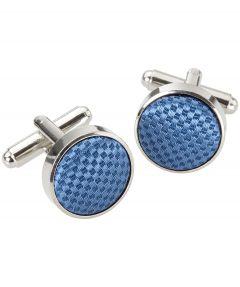 Manchetknopen - blauw