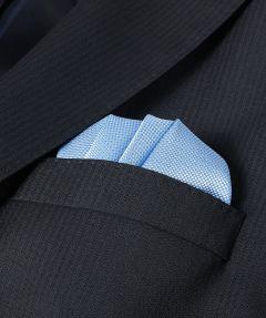 Pochet - lichtblauw