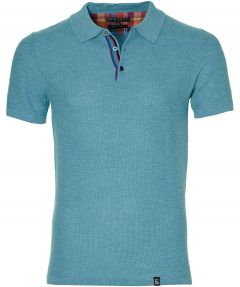 Colours & Sons polo - slim fit - blauw