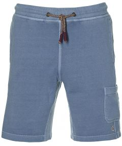 Colours & Sons short - slim fit - blauw