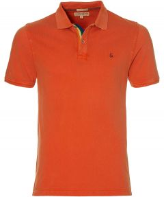 Colours & Sons polo - slim fit - oranje