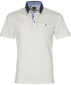 Nils polo - slim fit - wit