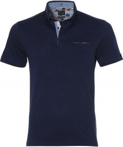Nils polo - slim fit - donkerblauw