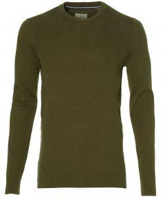 Hensen pullover - extra lang - groen