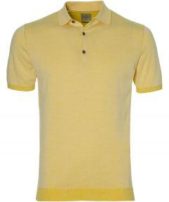 Jac Hensen Premium polo - slim fit - geel