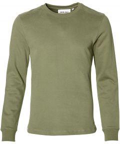 Anerkjendt sweater - slim fit - groen