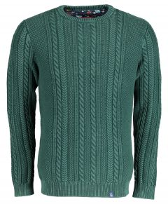 Colours & Sons pullover - modern fit - groen