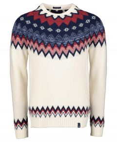 Colours & Sons pullover - modern fit - ecru