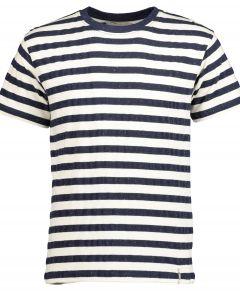 Anerkjendt t-shirt - slim fit - blauw