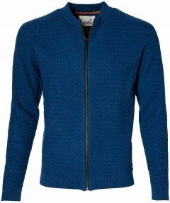 No Excess vest - modern fit - blauw