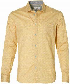 No Excess overhemd - modern fit - geel