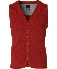 Jac Hensen gilet - modern fit - rood