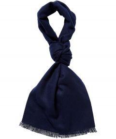 sale - Shawl Jac Hensen - wol - donkerblauw
